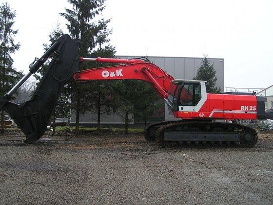 1999 O&K RH25 in Maasmechelen,