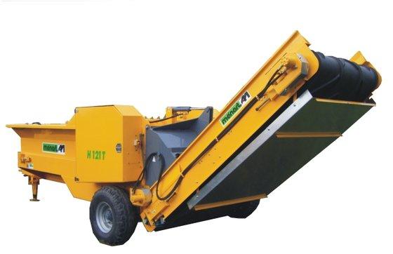 2014 Menart H121T tractor aangedreven