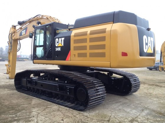 Caterpillar CAT 349E-L in Panheel,