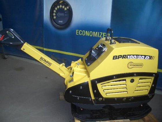 2012 Bomag BPR100/80DE Economizer Rüttelplatte
