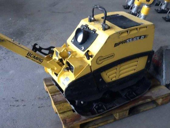 2011 Bomag BPR55/65DE Economizer Rüttelplatte