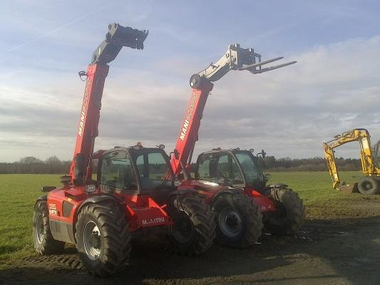 2008 Manitou Mlt 634 in