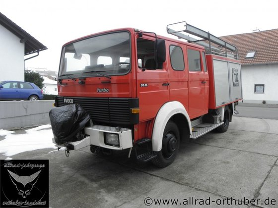1990 Iveco 90-16 AW in