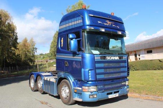 1997 Scania 124 400 in