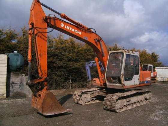 1990 Hitachi EX120-1 in Craigavon,