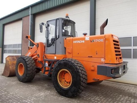 2006 Hitachi LX170E in Nunspeet,