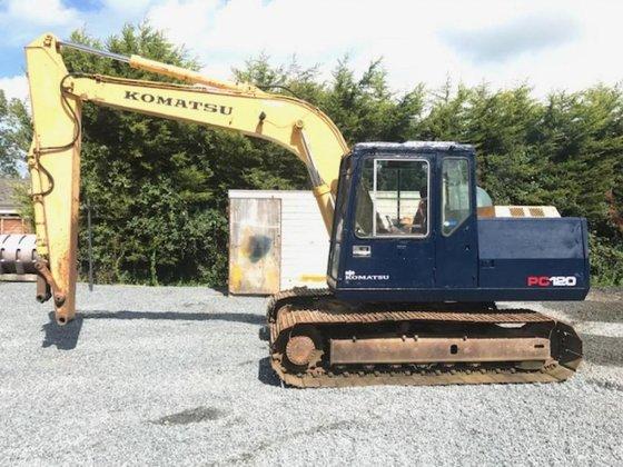 Komatsu PC120-5 in Craigavon, United