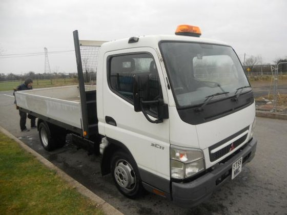 2009 Mitsubishi 3C11 CANTER in