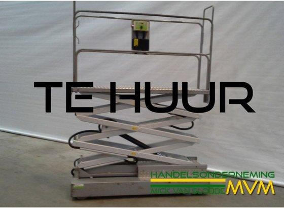 Elektrobuisrailwagens 3 x hydraulisch in