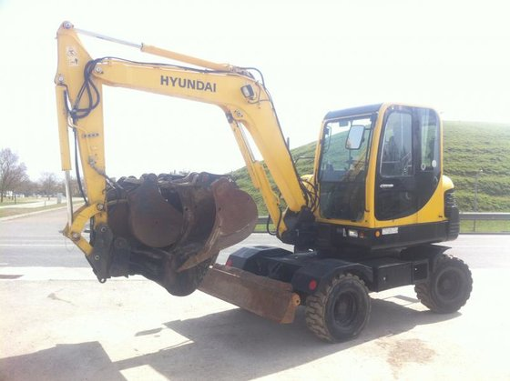 2007 Hyundai R55W-7 in Plaisance-du-Touch,