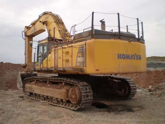 2007 Komatsu PC800LC-8 in Marchington,