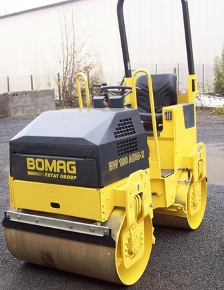 2007 Bomag BW100 AD in