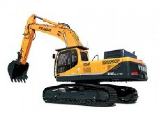 Hyundai R380LC-9A in Irlam, United