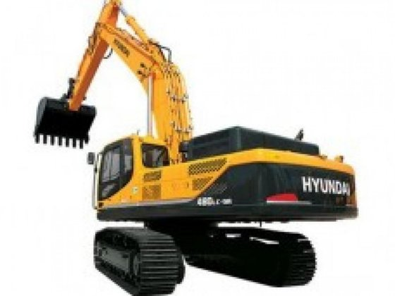 Hyundai R480LC-9A in Irlam, United