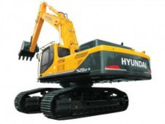 Hyundai R520LC-9A in Irlam, United