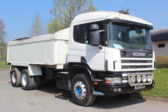 2002 Scania 114 380 in