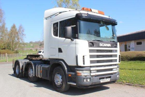 2003 Scania 124 420 in
