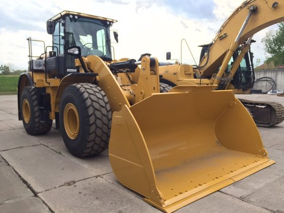 Vermietung CAT 950M in Germany