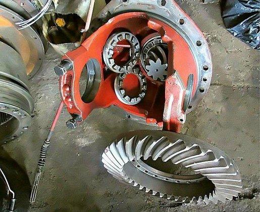 O&K L25 - Bevel gear
