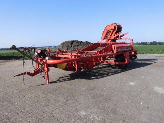 Grimme DL1500 uienlader in Schaijk,