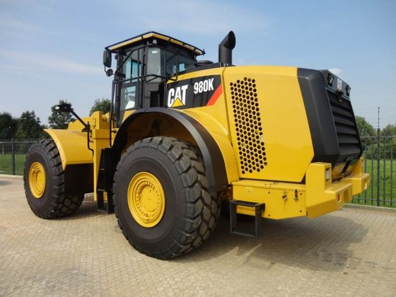 2014 Caterpillar 980K in Haaften,