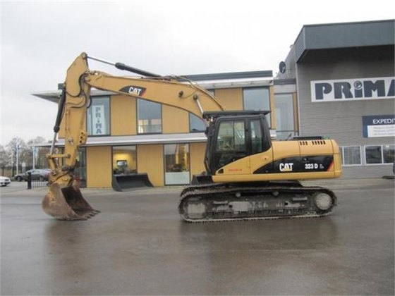 2007 Caterpillar 323DL in Hardenberg,