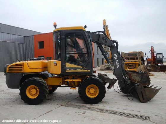 2002 Mecalac 12 MXT in