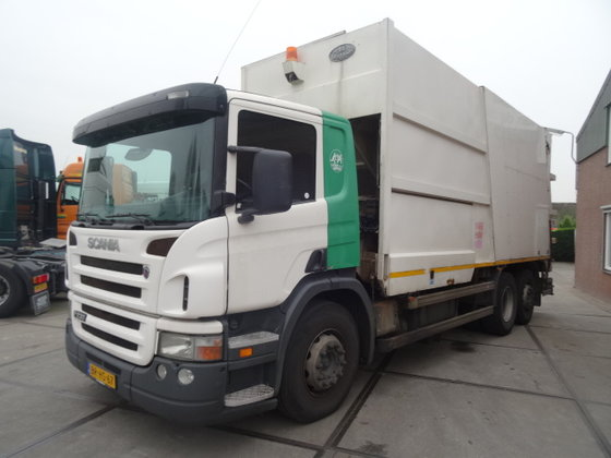 2005 Scania P 230 6X2/GARBAGE-TRUCK