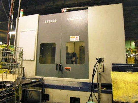 2001 Mori Seiki SH8000/50 CNC