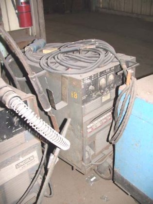 LINCOLN IDEALARC #R3S-400 DC, 400A,