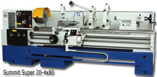 "SUMMIT 20"" x 120""B Lathe,"