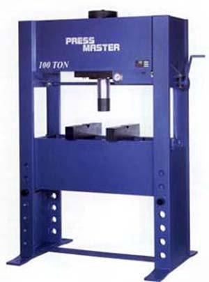 "100 Ton, PRESSMASTER, #100T-E/H, 12""Str,"