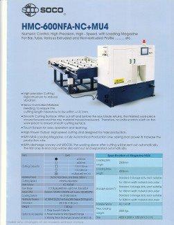 20-24 SOCO, No. HMC-600NFA-NC+MU4, W-7.25