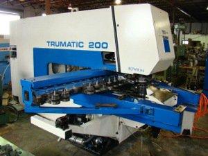 22 Ton, TRUMPF, TC200, Bosch-Trumagraph,