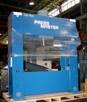 """250 Ton, PRESSMASTER, #HFP-250, 16""""Str,"""