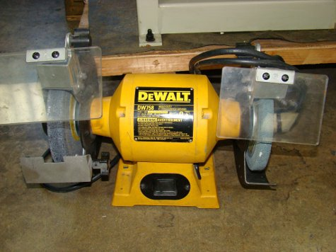 """DEWALT, #DW758, 8"""" wheel, 1"""""""