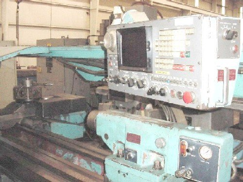 "Mazak, No.M5, FanucCNC, 18""Air Chuck,"
