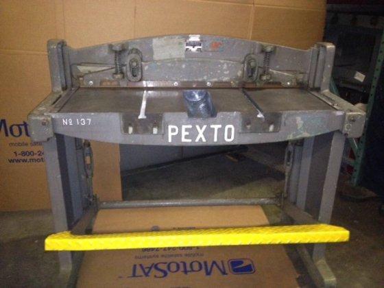 """16 Ga. x 37"""", Pexto,"""