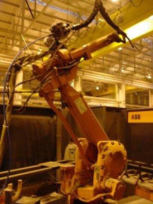 No. IRB-2400, ABB, Robotic Welding