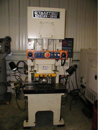 35 Ton, STAMTEC MODEL OCP-35H,