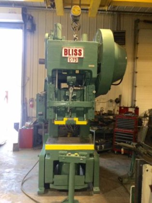 75 Ton, BLISS, MODEL C75,