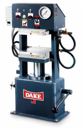 LABORATORY PRESS, DAKE, 50 Ton,