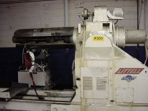20000 Lbs. LITTELL Servo Feed