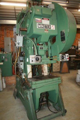 45 ton Minster #5 SS,