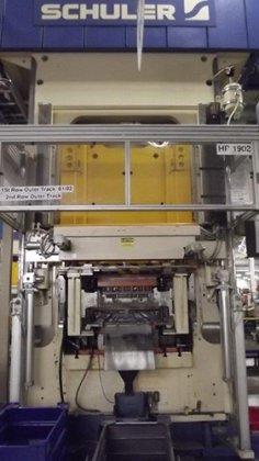 500 Ton SCHULER HPU 500-1300/1700,