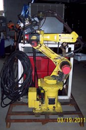 Fanuc ArcMate 100i comes complete