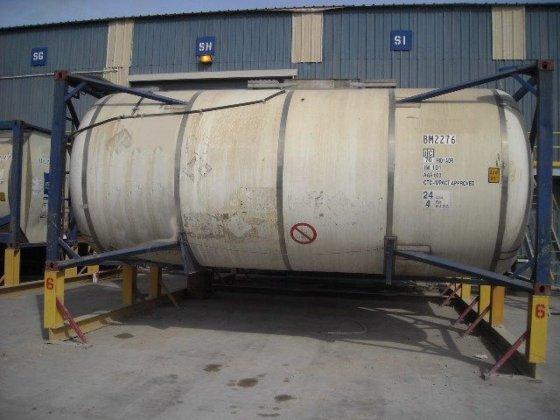 6000gal., 316 Ti/L SS barrel,