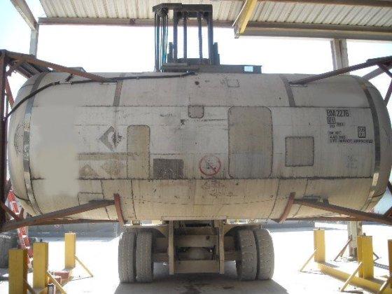 5500gal., 316 Ti/L SS barrel,