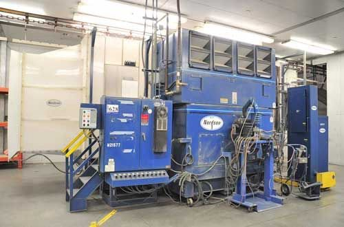 Nordson, Excel 2002 Powder Booth,