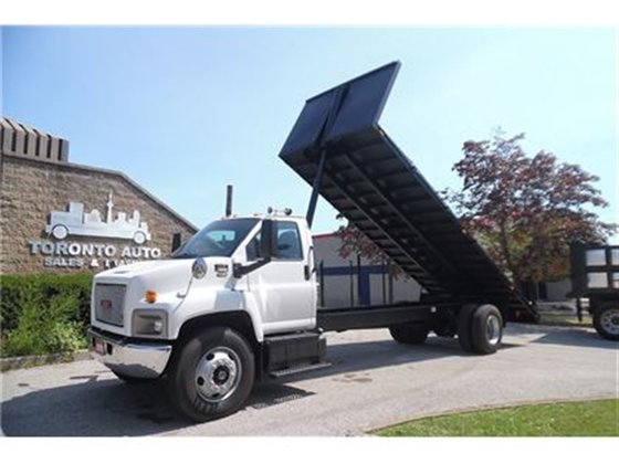 2006 GMC C-8500 Dumping flatbed,air